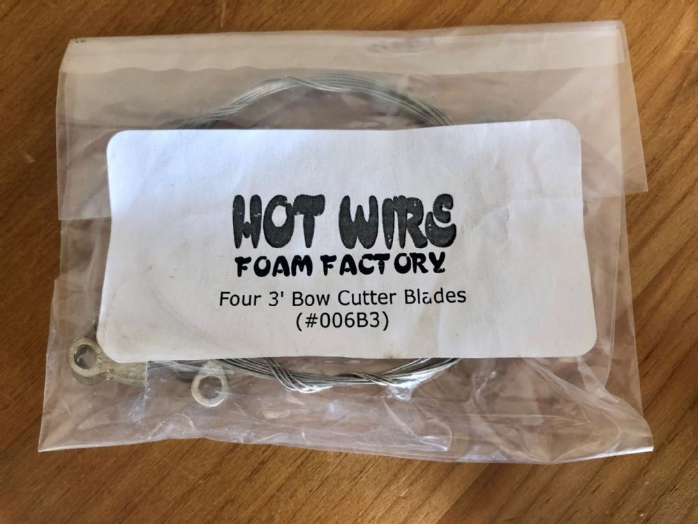 006B3 - Four 3ft Bow Cutter Wires